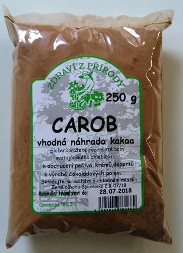 Carob 250 g - zdravá náhrada kakaa.