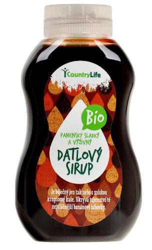 Datlový sirup BIO Country Live vhodný pro bezlepkovou dietu, celiaky - sladký a výživný.