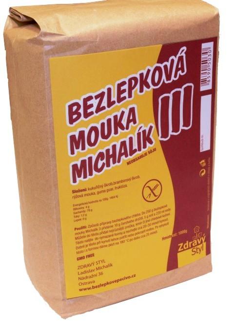 Bezlepková mouka Michalík pro celiaky, bezlepkovou dietu, bezlepkové vaření, pečení, bezlepkovou dietu.