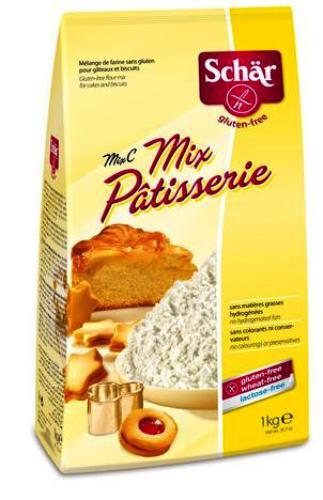 Mouka Schär Mix C pro bezlepkové pečení, bezlepkovou dietu, celiaky bez laktózy.