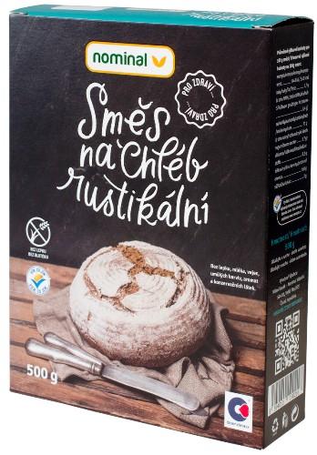 Směs na chléb rustikální pro celiaky, bezlepkové pečení chleba, pro bezlepkovou dietu.