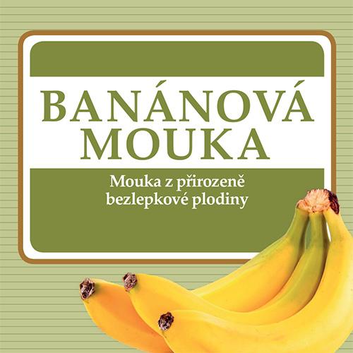 Banánová mouka má velké množství vitamínu B6, C, draslíku, manganu a dietní vlákniny.