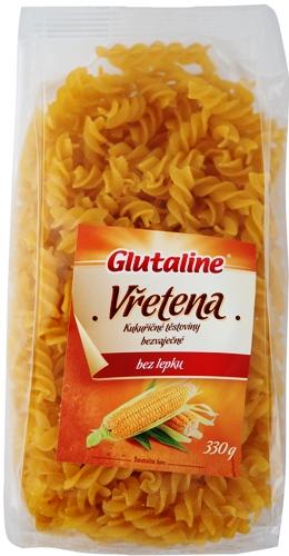 Kukuřičné těstoviny vřetena Glutaline bezlepkové 330 g pro bezlepkovou dietu, celiaky.