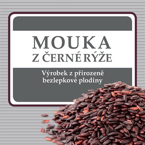 Mouka z černé rýže je vhodná pro celiaky, bezlepkové vaření, pečení, bezlepkovou dietu.