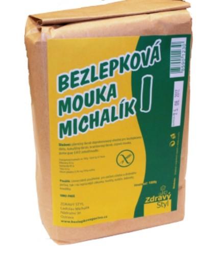Bezlepková mouka Michalík pro celiaky, bezlepkové vaření, pečení, bezlepkovou dietu, celiaky.