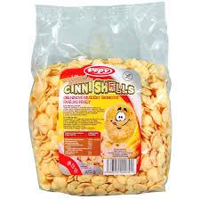 Vepy obilné mušličky se skořicí bez lepku 375 g pro bezlepkovou dietu, celiaky - výborné a křupavé.
