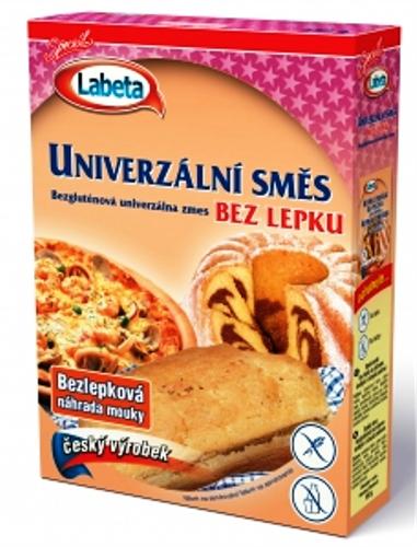 Univerzální směs bez lepku Labeza na pečení, pro bezlepkovou dietu, celiaky určeno pro sladké i slané pokrmy.
